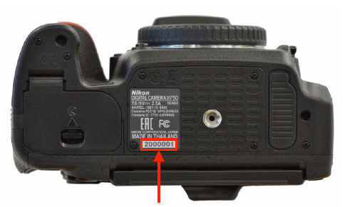 nikon-d750-serial-number Nikon begins fixing the Nikon D750 unnatural flare issue News and Reviews