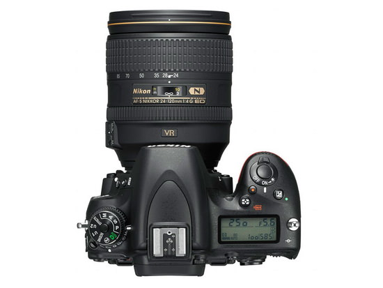 nikon-d750-top Nikon D750 announced with built-in WiFi and 24.3MP FX sensor News and Reviews