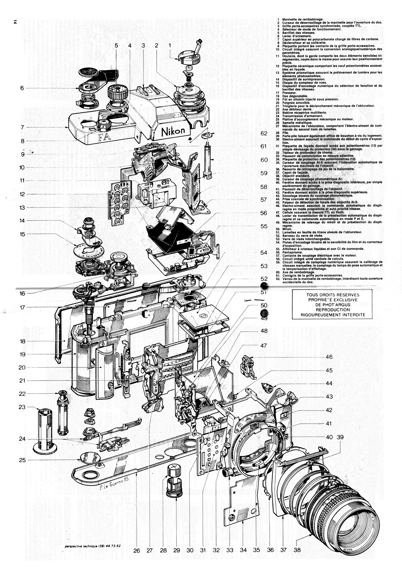 nikon-fa-slr-camera Nikon SLR camera schematics show up on the web Exposure