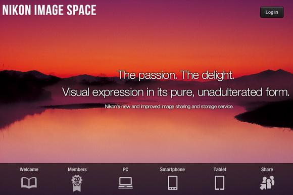 New Nikon Image Space storage service replaces myPicturetown