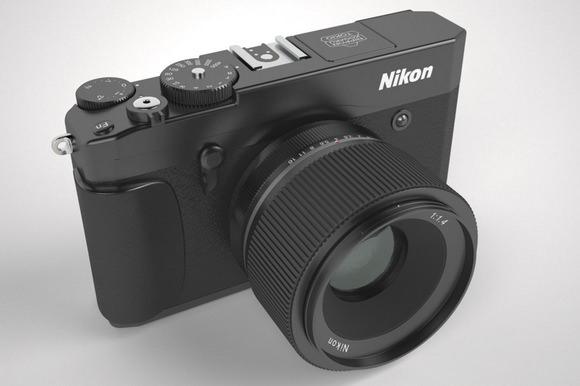 Nikon mirrorless camera concept