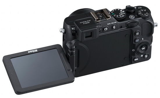 nikon-p7800-articulated-screen Nikon P7800 compact camera and LD-1000 LED announced News and Reviews