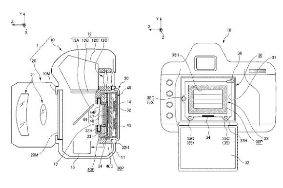 Nikon camera A patent filed by Nikon reveals works on a camera interchangeable sensor
