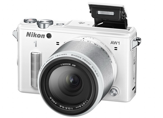 nikon-underwater-camera Nikon 1 AW1 underwater camera unveiled with two new lenses News and Reviews