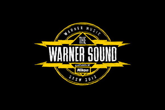 Nikon and Warner Music Group signed an agreement to record The Warner Sound at SXSW 2013 using D4 DSLR cameras