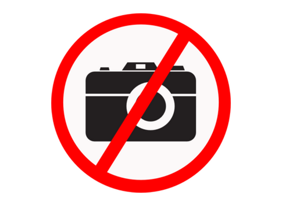 no-cameras-allowed-sign Vermont House of Representatives wants to ban photography News and Reviews
