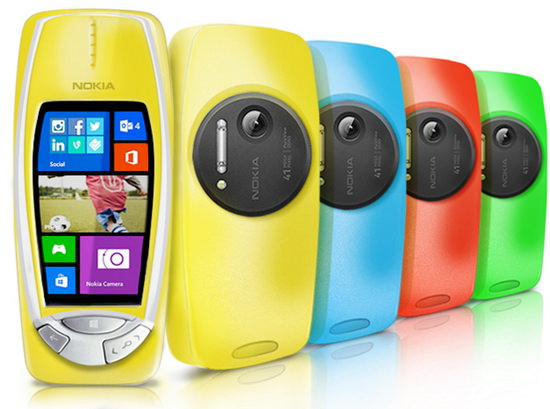 nokia-3310-pureview Samsung, Google, and others celebrate April Fools' Day Fun