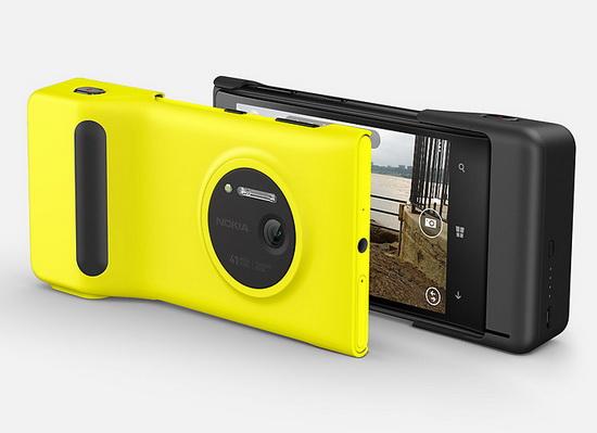 nokia-lumia-1020-camera-grip Nokia Lumia 1020 announced with 41-megapixel camera News and Reviews