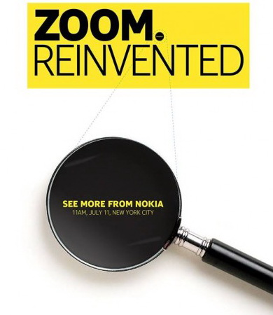 nokia-zoom-reinvented-teaser Nokia EOS 41-megapixel smartphone announcement date is July 11 Rumors