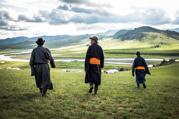 Nomads in Mongolia