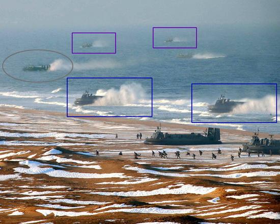 north-korea-photoshop-military North Korea used Photoshop to make its hovercraft fleet bigger Fun