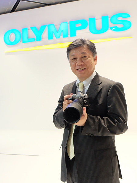 "ogawa-haruo Olympus E-M5 replacement is ""ready"", says company's president News and Reviews"