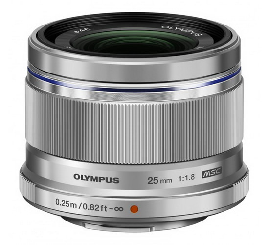 olympus-25mm-f1.8 Olympus E-M10 camera unveiled along with three new lenses News and Reviews