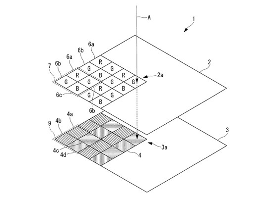 olympus-dual-layer-sensor Olympus patents dual-layer sensor with integrated polarizing filter Rumors