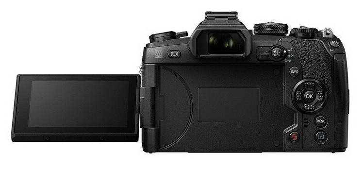 olympus-e-m1-mark-ii-back Olympus E-M1 Mark II unveiled with 4K and 50MP high-res mode Featured News and Reviews