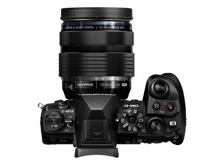 olympus-e-m1-mark-ii-top Olympus E-M1 Mark II unveiled with 4K and 50MP high-res mode Featured News and Reviews
