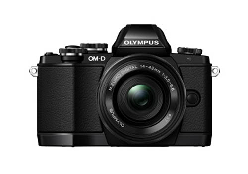 olympus-e-m10-black-photo Olympus E-M10 price leaked alongside its first photos Rumors