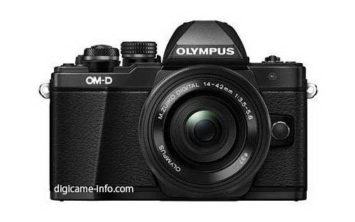 olympus-e-m10-mark-ii-black-front-leaked New Olympus E-M10 Mark II images and photos leaked Rumors