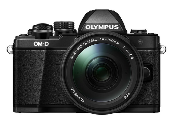 olympus-e-m10-mark-ii-front Olympus E-M10 Mark II mirrorless camera officially announced News and Reviews