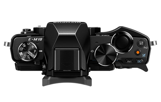 olympus-e-m10-top Olympus E-M10 camera unveiled along with three new lenses News and Reviews