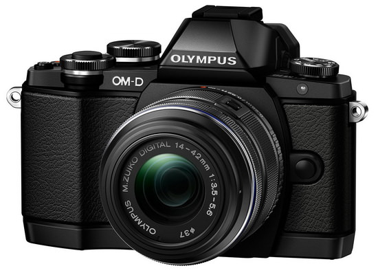 olympus-e-m10 Olympus E-M10 camera unveiled along with three new lenses News and Reviews
