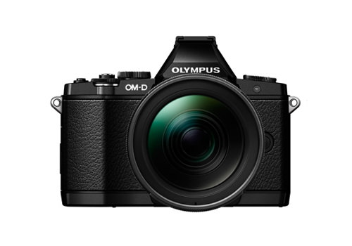 olympus-e-m5-elite-black Olympus E-M10 camera unveiled along with three new lenses News and Reviews