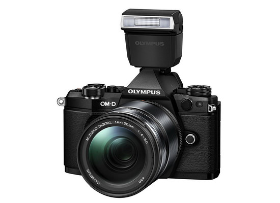 olympus-e-m5-mark-ii-flash Olympus E-M5 Mark II unveiled with 40-megapixel photo mode News and Reviews