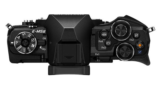 olympus-e-m5-mark-ii-top Olympus E-M5 Mark II unveiled with 40-megapixel photo mode News and Reviews