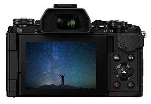 olympus-e-m5ii-black-back-leaked Olympus E-M5II price and launch date details leaked Rumors