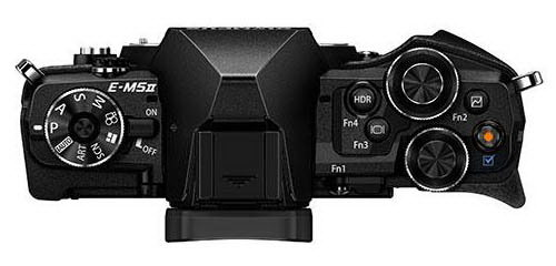 olympus-e-m5ii-black-top-leaked Olympus E-M5II price and launch date details leaked Rumors