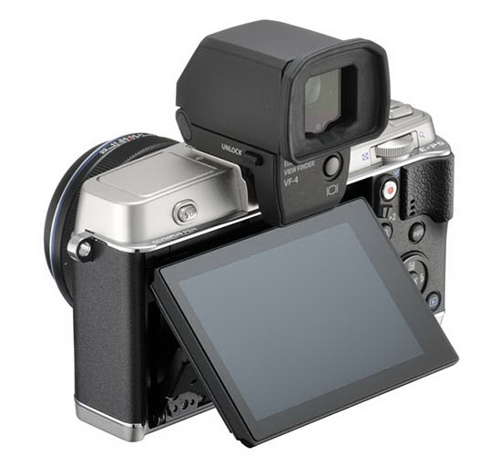 olympus-e-p5-external-viewfinder-leaked More Olympus E-P5 photos leaked online Rumors