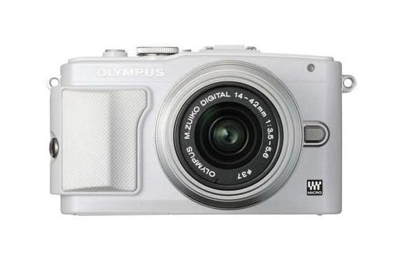 Olympus E-PL6 front photo