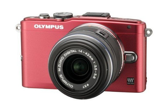 Olympus E-PL6 red version