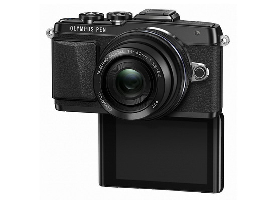olympus-e-pl7-selfie Olympus PEN Lite E-PL7 camera launched with E-M10-like specs News and Reviews