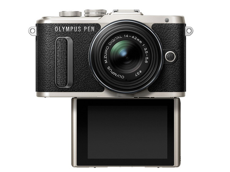 olympus-e-pl8-front Stylish Olympus E-PL8 camera appeals to selfie enthusiasts News and Reviews