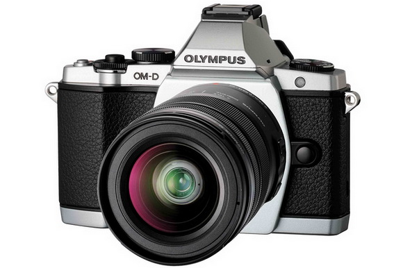 Olympus hybrid Micro Four Thirds camera
