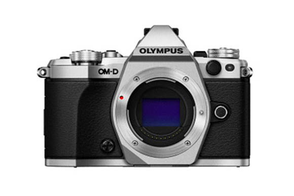 Olympus OM-D E-M5II front photo