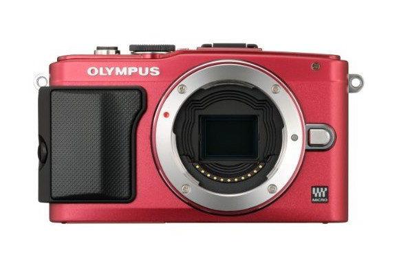Olympus PEN E-PL6 red