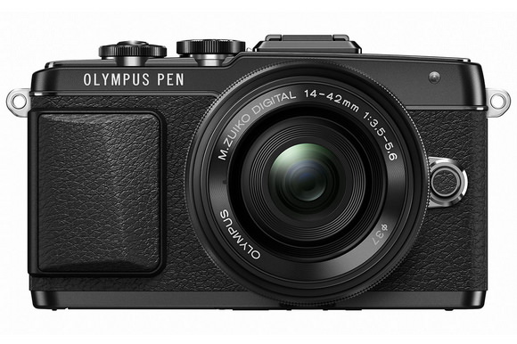 olympus-pen-lite-e-pl7 Olympus PEN camera prototype with portrait sensor in testing Rumors