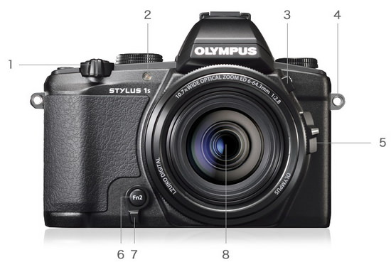 olympus-stylus-1s-front Olympus Stylus 1s premium compact camera becomes official News and Reviews