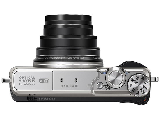 olympus-stylus-sh-1-top Olympus Stylus SH-1 camera becomes official with 16MP sensor News and Reviews
