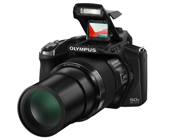 olympus-stylus-sp-100 Olympus Stylus SP-100 is world's first camera with a dot-sight News and Reviews