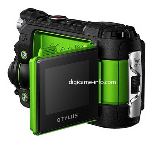 olympus-stylus-tg-tracker-tilting-display Olympus Stylus TG-Tracker specs and photos leaked Rumors