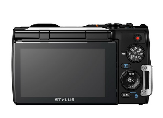 olympus-stylus-tough-tg-850-ihs-rear Olympus Stylus Tough TG-850 iHS rugged camera becomes official News and Reviews