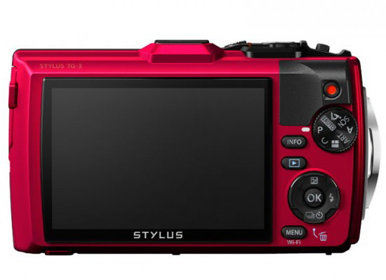 olympus-tough-tg-3-back Olympus Stylus Tough TG-3 rugged compact camera unveiled News and Reviews