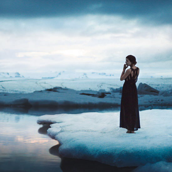 once-upon-a-freezing-time Ethereal landscape photos with people in them by Elizabeth Gadd Exposure