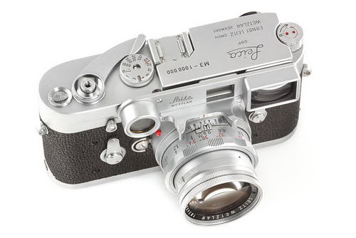 one-millionth-leica NASA-modified Nikon F3 camera available at WestLicht auction News and Reviews