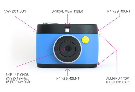 otto-gif-camera OTTO is a hackable GIF camera available on Kickstarter News and Reviews