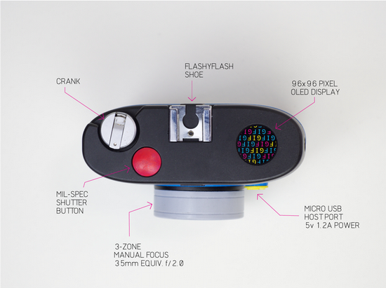 otto-hackable-camera OTTO is a hackable GIF camera available on Kickstarter News and Reviews