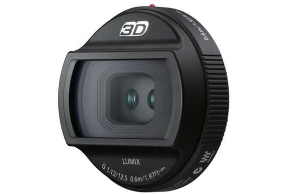 Panasonic 12.5mm f/12 3D lens